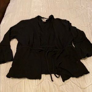 Hard Tail Forever cropped cardigan size L